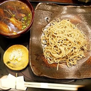 蕎麦きり 彦衛門 - 料理写真:鴨せいろ①
