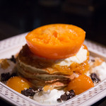 48822599 - せとかミカンと柑橘のチョコパンケーキ