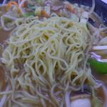 餃子の王将 - 麺アップ