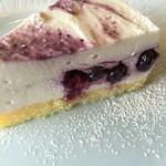 コーリーコーリー - ブルーベリーレアチーズケーキ