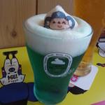 ドアラ カフェ - フローズンビールもドアラ!