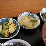 結ま~る食堂 - ゴーヤチャンプルー・冬瓜の煮物・緑豆きんとん