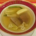 サンビーム - 牛タンのスープ ポトフ風