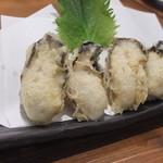 あっけし - 天ぷら牡蠣