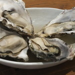 あっけし - 酒蒸し牡蠣