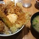 天吉屋 - 鶏と旬野菜の天丼