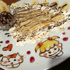 トムズ珈琲 - 料理写真:チョコバナナナッツクレープ単品450円Dセット600円