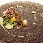 コシモ・プリュス - ほたてと春のお野菜