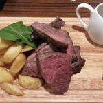 肉バル ウーズチャーム - 熟成肉ランチから1/2ポンドステーキ(225g!)1,800円
