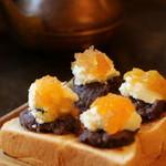 コーヒーハウス かこ - 念願のスペシャルな小倉トースト