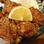 真鶏 - 料理写真:唐揚げ❤