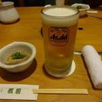 ちゃんこ照国 - 生ビール:670円