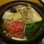 ちゃんこ照国 - ちゃんこ鍋:3,000円