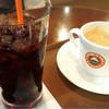 サンマルクカフェ - ドリンク写真:アイスコーヒーとブレンドコーヒー