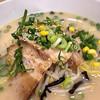 中華さと - 料理写真:黒豚チャーシューの豚骨。