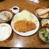 林や - 料理写真:ロースカツ定食¥1090 +さっぱりおろしポン酢¥270