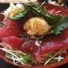 松葉寿司 - 料理写真:まぐろ月見丼