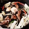 ハウベ - 料理写真:ジンギスカン&野菜 2016/02