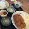 柳ばし - 料理写真:メンチカツ定食 1/2