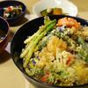 茂竹 - 料理写真:野菜天丼