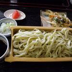 武州めん - のらぼう菜入りうどん(650円)_2010-08-22