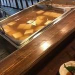 48894124 - 名物湯豆腐が温まってます