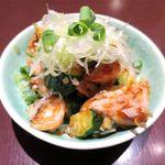もつやき 松井 - がつの辛味噌和え(600円)