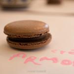 アルモリック - チョコレートマカロン