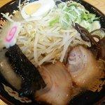 水城ラーメン - らあ麺:500円+もやし:50円