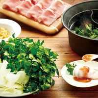 【期間限定】梅だしでさっぱり!!ごちそうクレソン鍋
