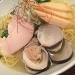 麺や ハレル家 - 蛤そば