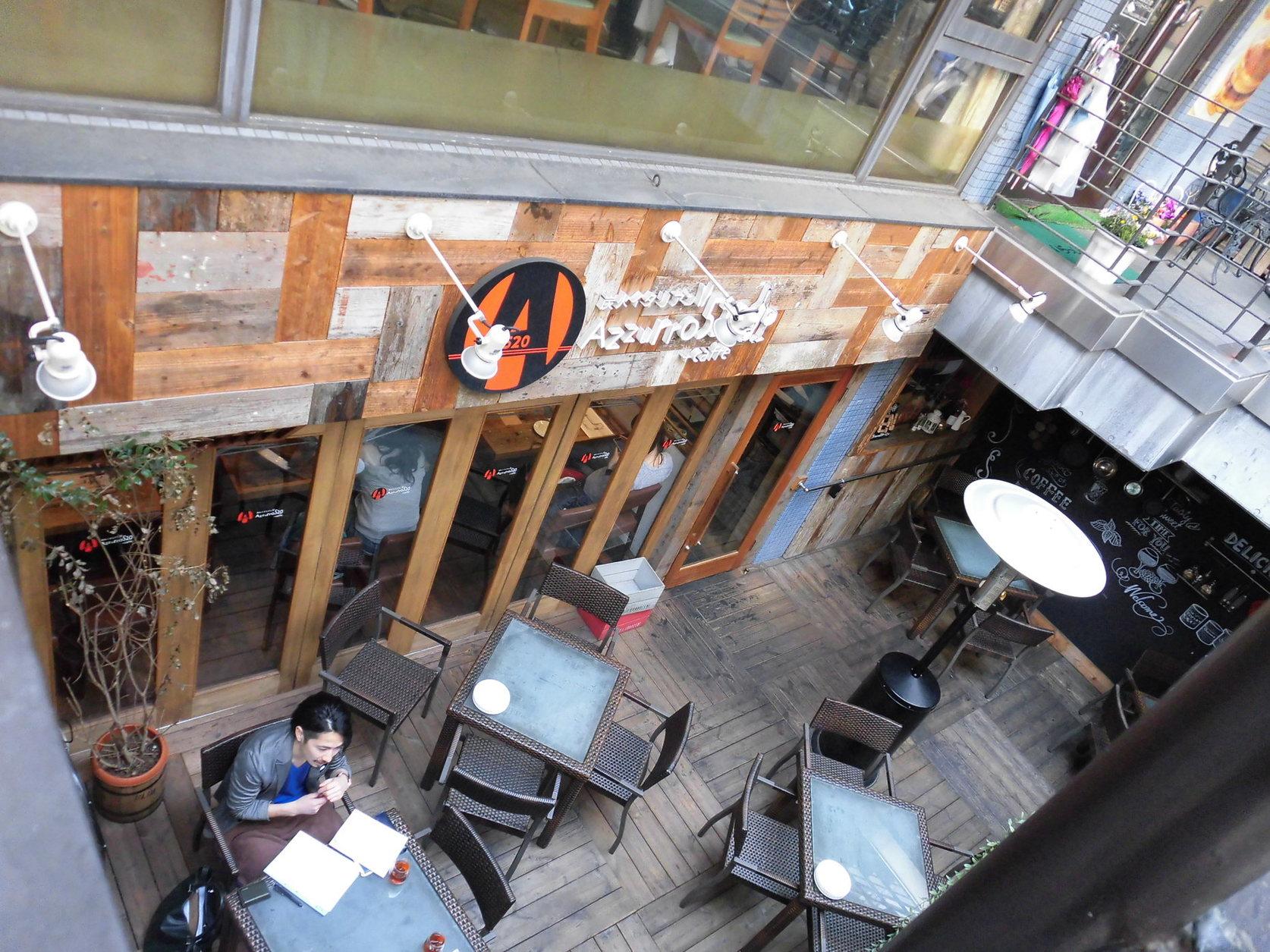 炭火イタリアンAzzurro520+カフェ