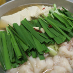 博多魚がし 海の路 - もつ鍋スタンバイ