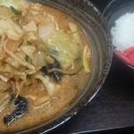 48951114 - 味噌野菜麺