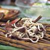 蓮香 - 料理写真:細切豆腐と干しわらびの香り和え