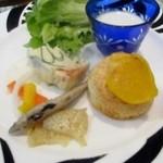 洋食屋 綺・Luck - 3月のランチ前菜