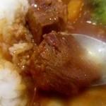 洋食屋 綺・Luck - 大きな塊のビーフ
