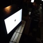 御料理 宮坂 - 入口に家紋の看板