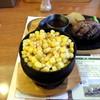 ビッグボーイ - 料理写真:⑦ サラダバーからコーンを焼いてみました。冷凍のでも焼けば甘味が引き立ちますね。