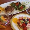 浅草茶房 - 料理写真:休日限定ランチ パンケーキ・フルーツテイー付 1,980円