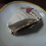 かしの木 - レアチーズケーキ