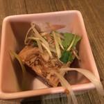 霧島屋 - お通しの旨み鶏の煮凝り