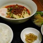 48971607 - 汁なし担々麺定食