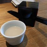 蕎肆 穂乃香 - 蕎麦湯