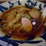 倉一廊 - 「煮干 中華麺」600円也。税込。