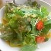 プエブロ - 料理写真:ランチに付くサラダはセットにしては多め。