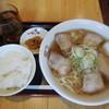 坂内 - 料理写真:喜多方ラーメン ¥650→390-