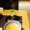 四季の杜 紫尾庵 - ドリンク写真:ウェルカムドリンク?  リンゴのゼリーでした。美味しいでした。