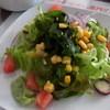 城北飯店 - 料理写真:2016年3月 ランチのサラダ