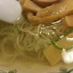 中国ラーメン揚州商人 - 澄んだスープ